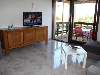 Apt 48 m²+terrasse 12 m²+piscine chauffée+mer, Saint-Aygulf