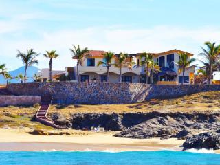 The Beach.  Miles of private beach.  7 Bedrooms, Cabo San Lucas