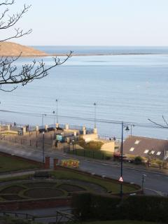 View over to Filey Brigg From Filey