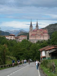 Basilica at the Covadonga