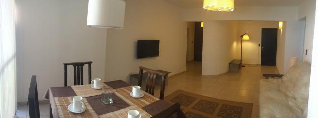 Livingroom and gateway. Tv room