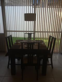Place for breakfast and main dining room