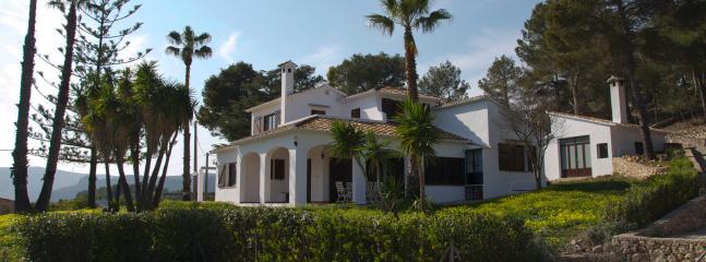 Villa desde piscina