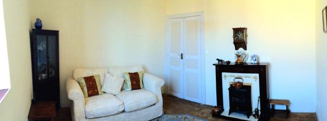 Comfortable Sitting room with sofa bed and satellite (UK) tv
