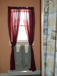 Towels provided - master bath