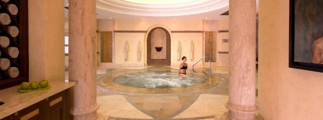 Guests can enjoy massages, body wraps, facials, hydrotherapy, couples' experiences