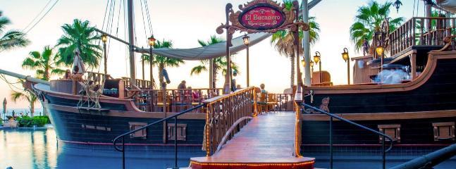 El Bucanero -enjoy lunch or light dinner in a Spanish galleon ship!