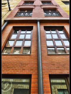 Fachada exterior del edificio