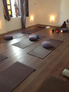 Red Buddha Yoga & Wellness ~ next door :)