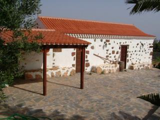 Typical majorera house in Fuerteventura