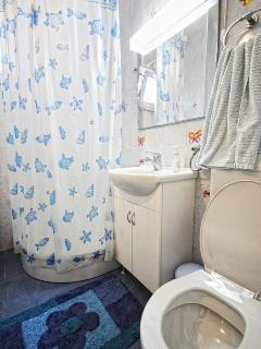 bathroom on the ground floor