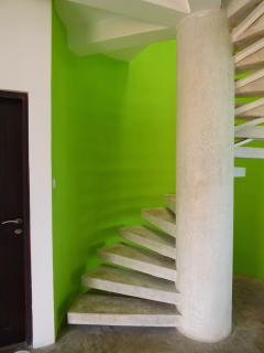 Steps up to bedroom - The Cabanna