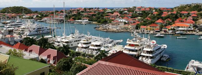SPECIAL OFFER: St. Barths Villa 117 The Villa Is Overlooking The Harbour Of Gustavia And The Ocean.