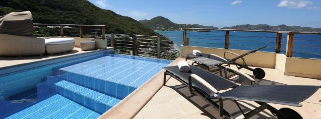 C'est La Vue SPECIAL OFFER: St. Barths Villa 118 Hillside On The Sunset Side Of La Pointe Milou Gives To It A Maximum Of Sun During The Day, And Beautiful Sunsets., San Bartolomé
