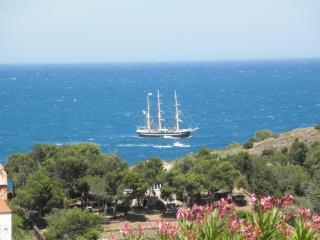Villa vue sur mer, 3 chambres, 600 mètres des criques, WIFI, garage