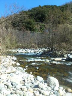 A lovely walk from Casa Sola brings you to the roaring River Tech