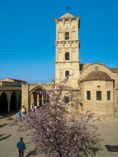 Larnaca with many places of interest is 10 minutes away by car.