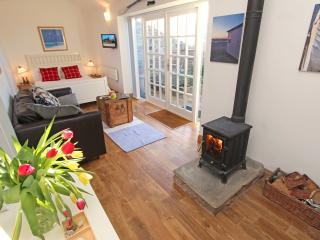 1 Bamburgh Gate, sit by the wood burning stove and relax!