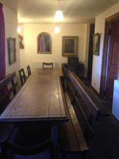 dining hall -seats 14