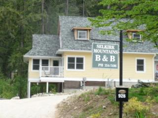 In the Selkirk Mountains B&B