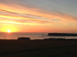 Sunset at Brough of Birsay
