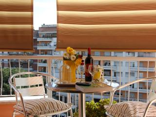 Enjoy breakfast or a drink on the balcony!