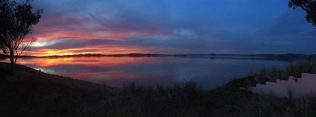 Sunset panorama, March 14
