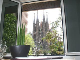 Apartamento con vistas a la sagrada Familia, Barcelona