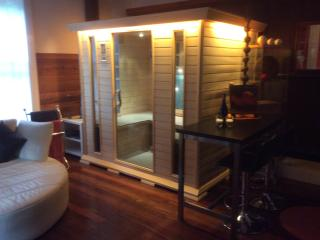 The Spa Cottages indoor infra-red sauna