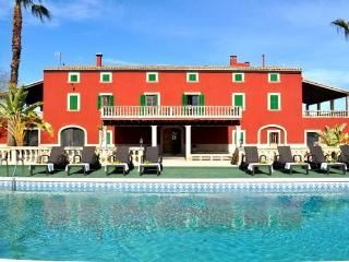 Villa 8 dormitorios, Pista de tenis, Piscina, Wifi, Algaida
