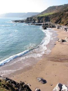 Great Mattiscombe Sands, South Hams, Devon