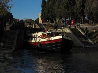 Hotel Barge Beatrice Canal du Midi cruises, Portiragnes