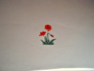 B&B Antico Granaione Poppy bedroom