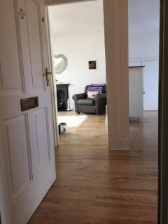 Entrance hall to the Beach Flat, Broughty Ferry