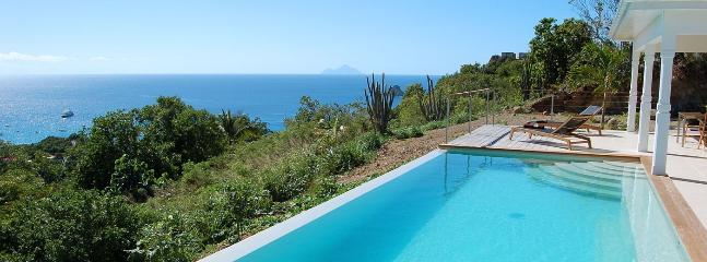 Villa Cactus SPECIAL OFFER: St. Barths Villa 148 This Saint Barth Holiday Villa Rental, Has A Magnificent View On The Ocean., Anse des Cayes