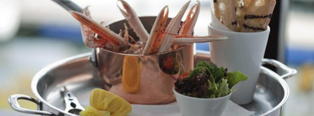 They said the Clyde Estuary is the finest in the world for seafood,Why don't you treat yourself.