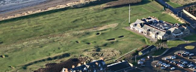 The historic Royal Troon Golf Club