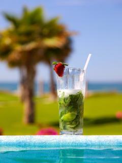 a must drink of the Paraiso Del Mar Mojito!