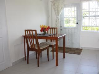 Baywatch dining area