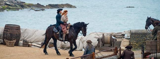 Poldark in charlestown-5min walk 2nd series filming sept 2015