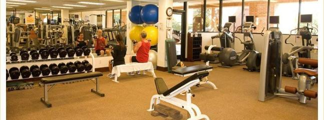 Free use of the Lodge's full-service gym. Trainer available.
