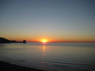 El amanecer te dará los buenos días.
