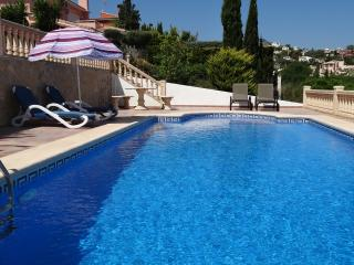 Luxury villa, Gata de Gorgos, Private pool, air con, wifi, sleeps 6, greatviews.