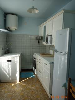La cuisine toute équipée, pas de de vaisselle à faire pendant les vacances!