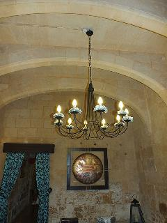 Arched Ceiling in Living Room 02