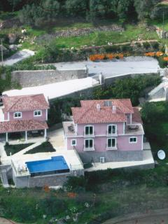 Arial View of the Villa and Grounds