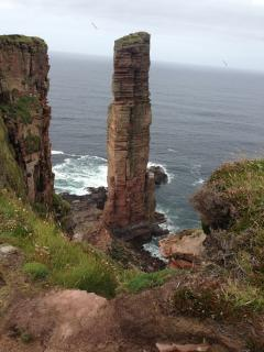Old man of Hoy in September
