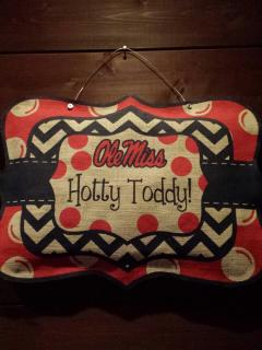 Ole Miss Rebels! Hotty Toddy!