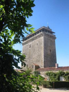 Local Medieval Prison Tower - can be viewed from the bottom of the garden