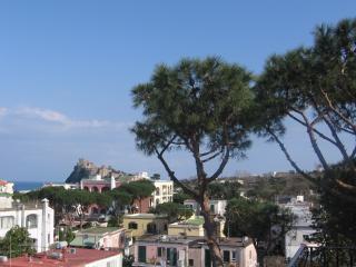 Ischia, appartamento in villa, terrazzo panoramico